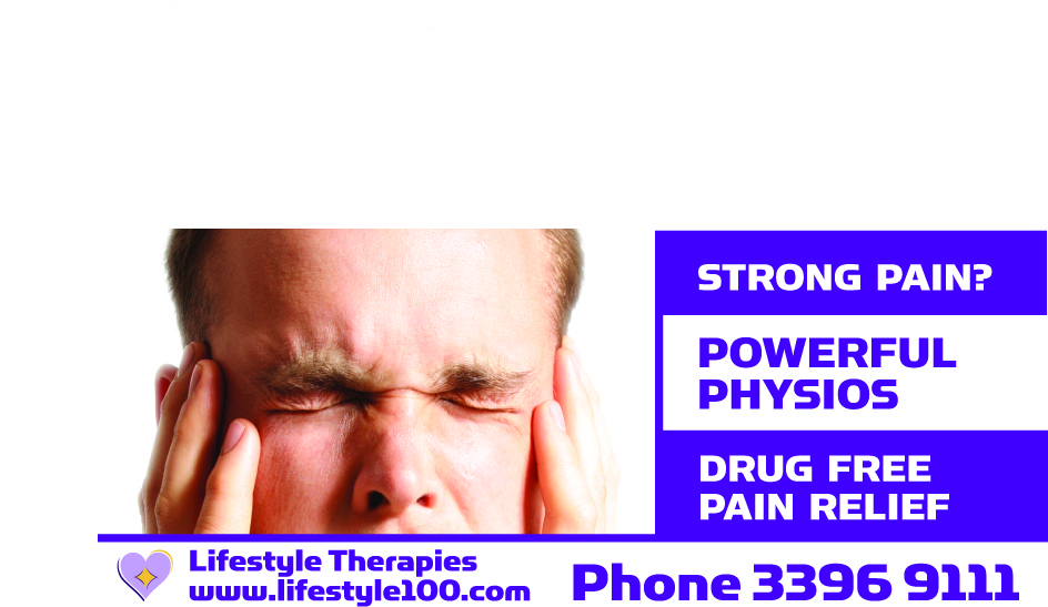 Strong Pain? Powerful Physios! Drug Free Pain Relief.